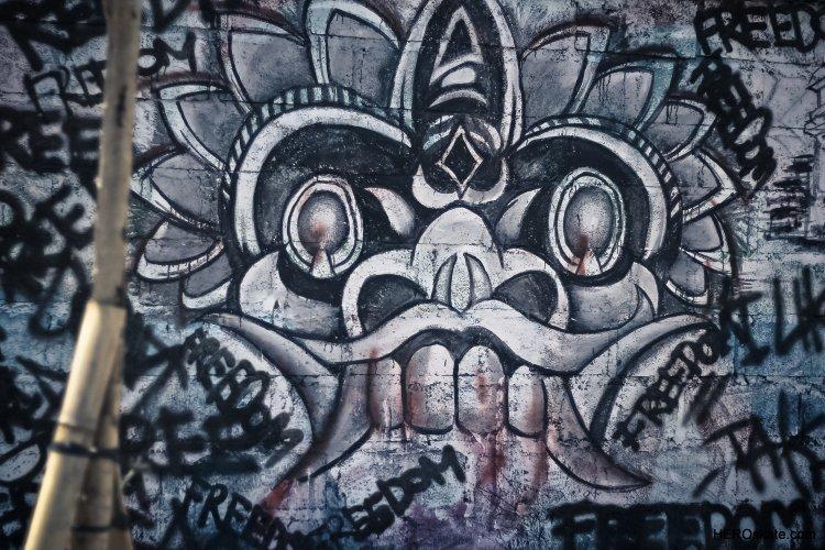 巴厘岛涂鸦艺术