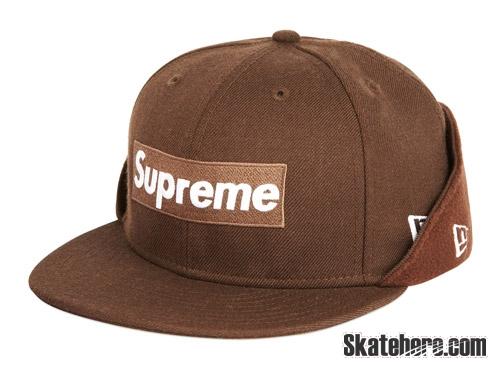 supreme box logo帽子